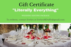 """Literally Everything"" gift certificate"